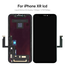 Grade LCD For iPhone XR Display For Tianma OLED OEM Touch Screen With Digitizer Replacement Assembly Parts Black(China)