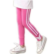 YWSTT  Girls Leggings Cotton Pants For Girls Sport Leggings Children School Trousers Kids Clothing