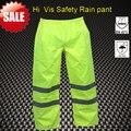 [Nuevo] Hi vis seguridad pantalón de lluvia lluvia pantalones pantalones de lluvia reflexivo en stock pantalón de trabajo