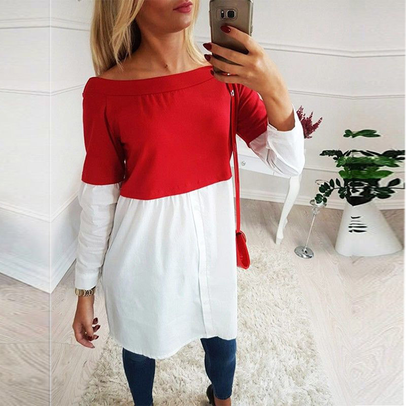 Female Maternity Tees Patchwork Big Size Clothes Tops For Pregnant Women Print Fashion Pregnancy Shirts Maternity Clothing 2019 Karachi