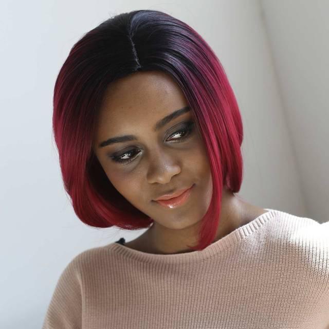 Achat perruque femme noire moins cher - 6