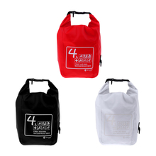 Perfeclan 4L Waterproof Dry First Aid Bag for Rafting Swimming Camping Hiking Emergency Survival Storage Bags