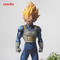 3 Style Anime Dragon Ball Z Vegeta Figurine Super Saiyan SMSP Manga Vegeta PVC Action Figure