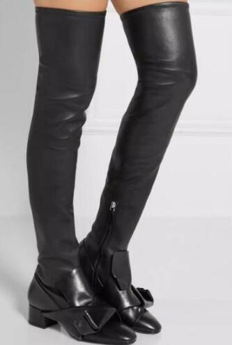 Popular Sexy Leather Thigh High Boots-Buy Cheap Sexy Leather Thigh ...