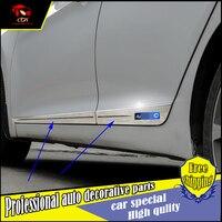 NEW ACCESSORIES FIT FOR Hyundai Elantra Avante 2011 2015 SIDE DOOR BODY GARNISH MOULDING COVER TRIM