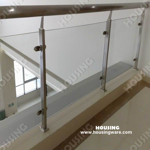 Por Stainless Steel Tempered Gl Railing For Your Indoor Balcony