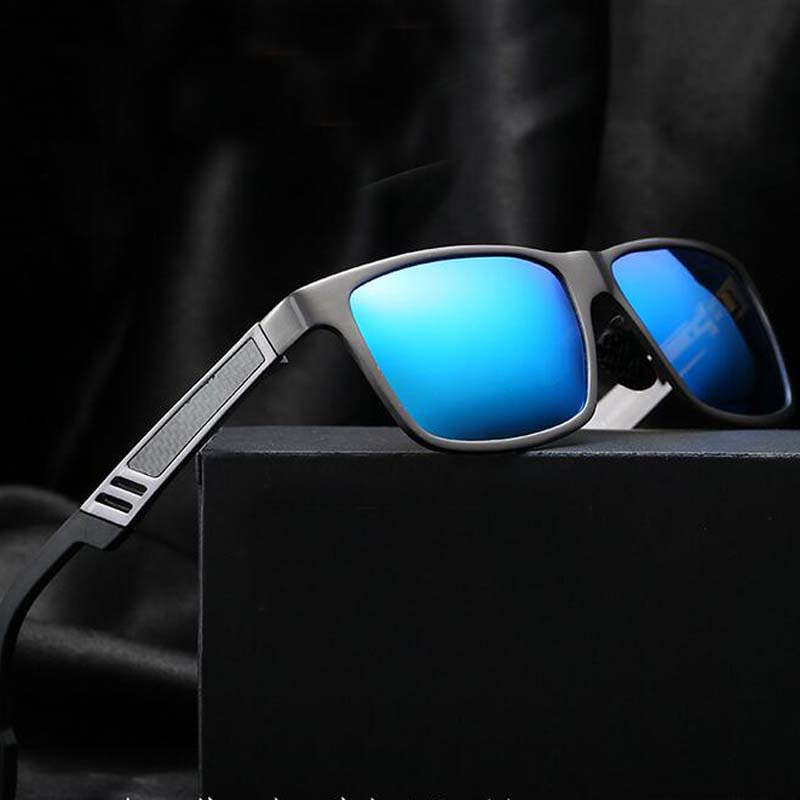 Aluminium magnesium mäns solglasögon polariserad beläggningsspegel - Kläder tillbehör - Foto 1