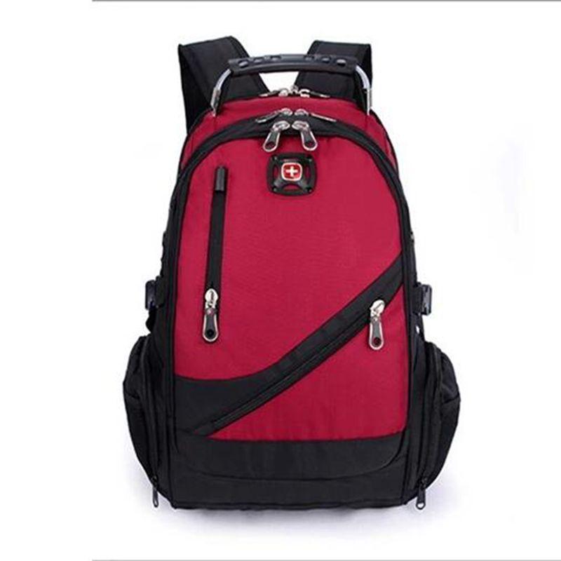 Swiss Military Army Travel Bags Laptop Backpack 15 Multifunctional Schoolbag Waterproof Fabric