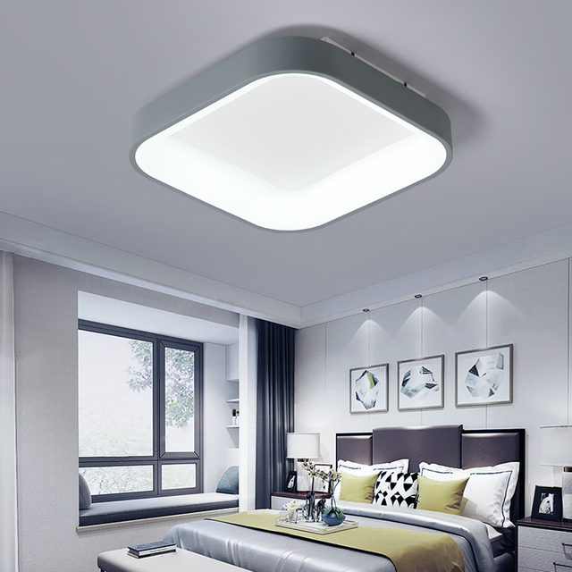 Dragonscence Modern Led Ceiling Light Lustre For Bedroom Dining Room meeting room Kitchen  clubs square Ceiling lamp