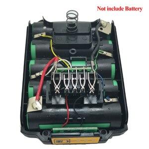 Image 4 - For Dewalt 18V 20V Battery Plastic Case 1.5Ah DCB200 DCB201 DCB203 DCB204 Li ion Battery Cover Parts