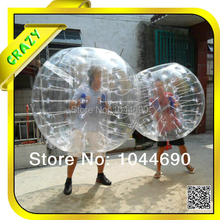 Exciting ! ! bubble ball for football /inflatable bubble ball