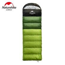 Naturehike Factory Outdoor travel sleeping bag spring Autumn winter warm portable camping adult indoor noon break sleeping bag