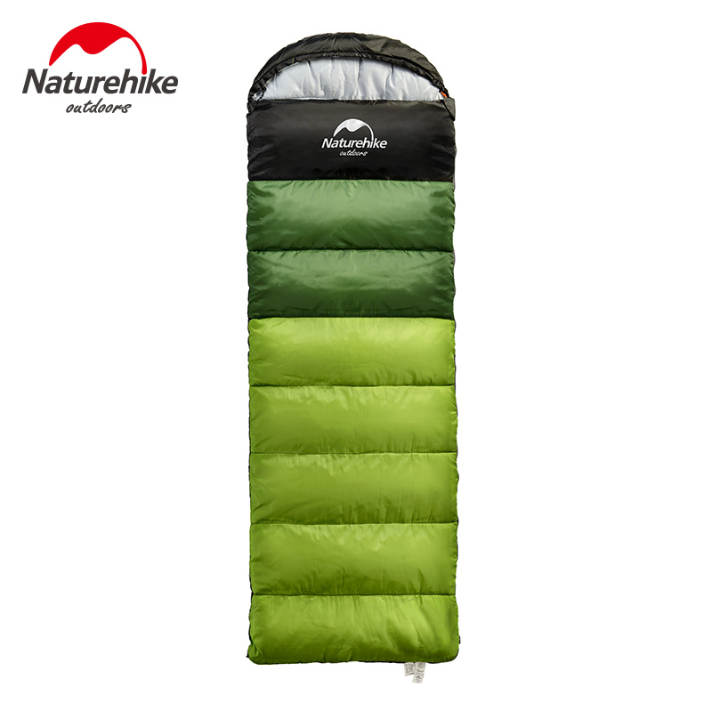 Naturehike Фабричный спальный мешок для путешествий на весну, осень, зиму, теплый портативный походный спальный мешок для взрослых в помещении