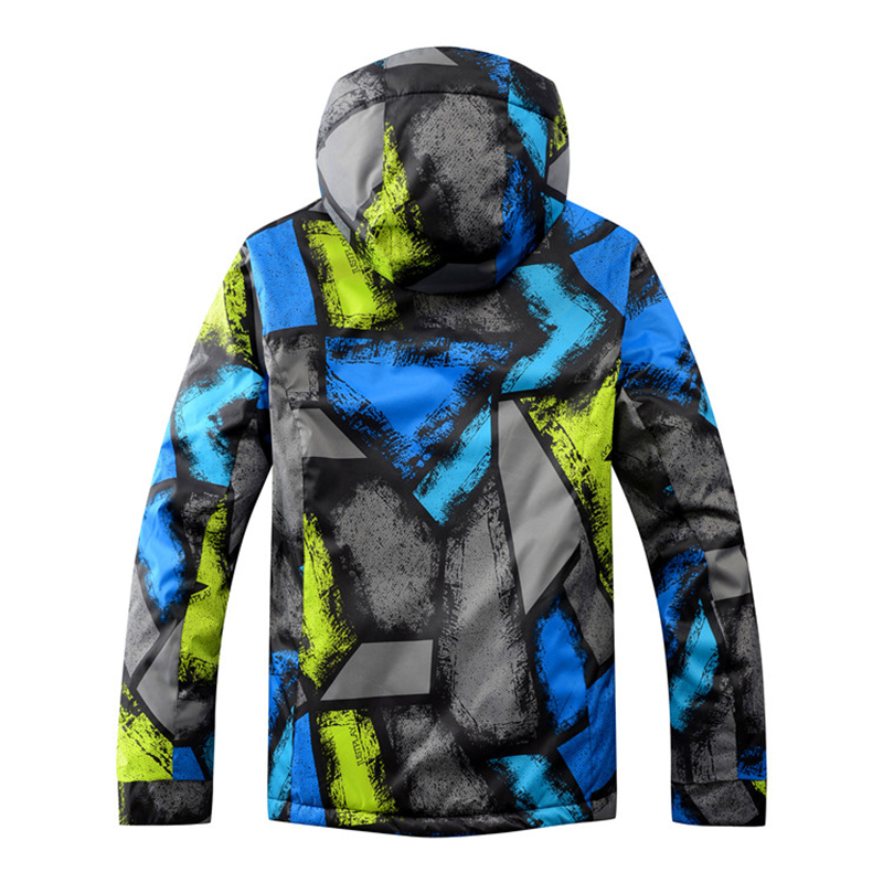 Winter Jacket+Pans Snowboard Men Waterproof Windproof Ski Jacket Climbing Thermal Snow Outdoor Ski Coat Male Large Size men and women winter ski snowboarding climbing hiking trekking windproof waterproof warm hooded jacket coat outwear s m l xl