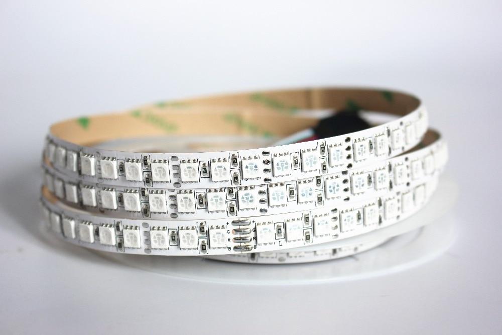 Image 3 - 1/2/3/4/5M LED Strip 5050 DC12V 120LEDs/m  Flexible LED Strip tape Lighting  RGB /Warm white/White 5050 LED  high brightness-in LED Strips from Lights & Lighting