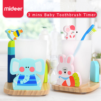 Mideer Baby 3 mins Toothbrush Timer Toy Gaby Tina Children Kids Education and Learning Skills Toys 3 Years+
