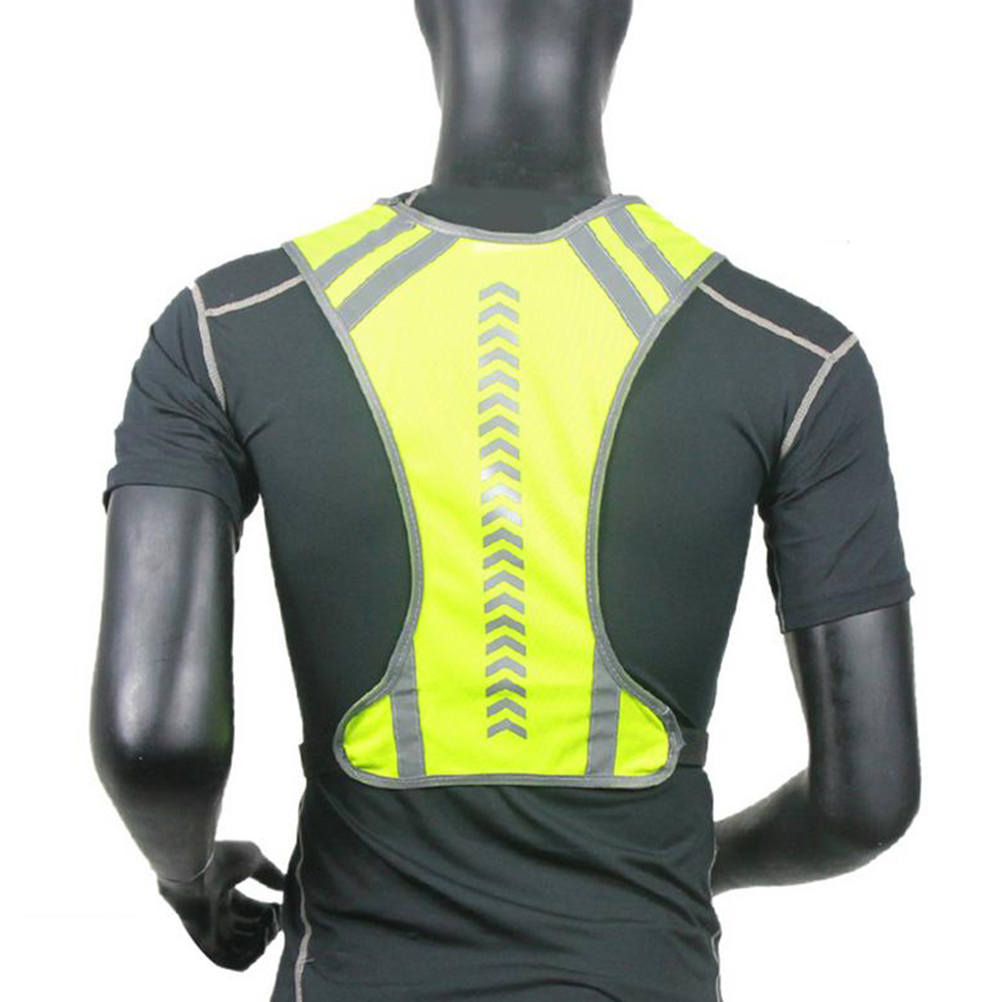 running - Outdoor High Visibility Reflective Vest Night Running Cycling Warning Safety Vest For Sports Running Clothing Jogging Riding #20