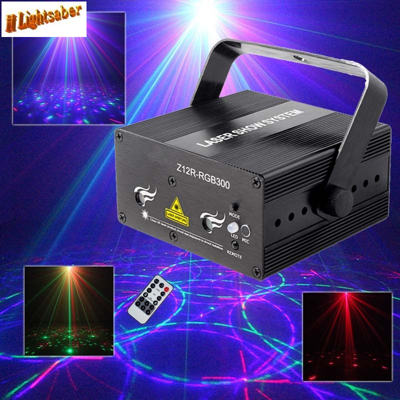 2016 NEW SUNY 12 Patterns RGB Remote Laser Stage Lighting Effect DJ Disco Dance Lights Laser Projector Party Light Equipment mini rgb led party disco club dj light crystal magic ball effect stage lighting