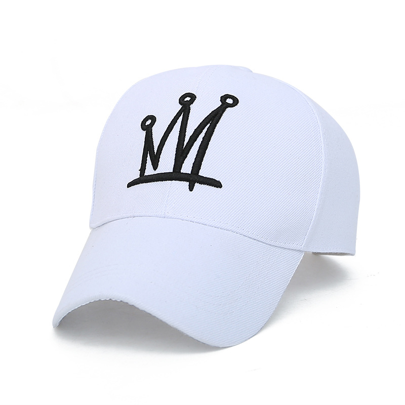 new spring casual simple   baseball     cap   male and female couple embroidery crown sunscreen sun hat