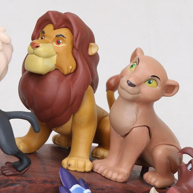 Фигурки Король Лев 6 шт 4-7 см 5