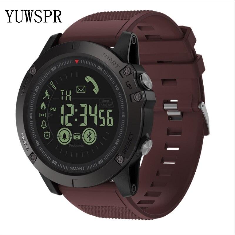 Hommes montre bracelet athlète 33 mois veille 24h tous temps surveillance sport bracelet IOS Android VIBE3 - 3