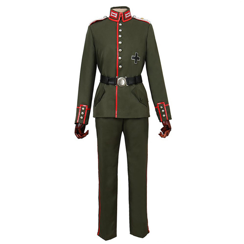 Saga Of Tanya The Evil Erich Von Rerugen Cosplay Costumes Cosplay Coat, Perfect Custom For You !