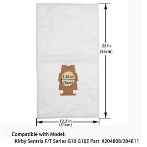 Image 4 - Best Sell 10Pcs Dust Bag Vacuum Cleaner Part for Kirby Sentria 204808/204811 Universal F/T Series G10