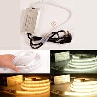 LED Controller For SMD2835 240leds LED Strip Light Three Color AC220V Single Color No Remote Lighting
