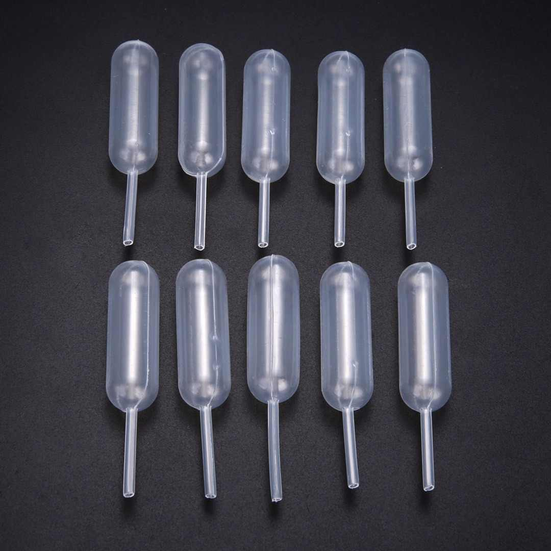 100 Pieces/ Set Transfer Pipettes 65mm Plastic Squeeze 4ml Transfer Pipettes Dropper For Cupcake Ice Cream Chocolate
