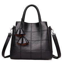 купить High Quality Women Leather Handbag Shoulder Bags Tote Purse Travel Messenger Hobo Satchels Top Handle Bags 2019 New по цене 1133.93 рублей