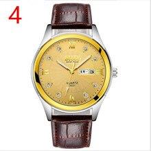 В 2018 году, новые мужские кварцевые часы, высокое качество Спорт на открытом воздухе мужские ремешок для наручных часов, модные деловые часы, 39
