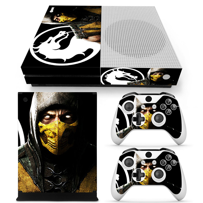 Us 179 40 Off2018 Protector Skin Cool Design For Xbox One S Stickers Game Console2pcs Controller Decal Cover In Stickers From Consumer