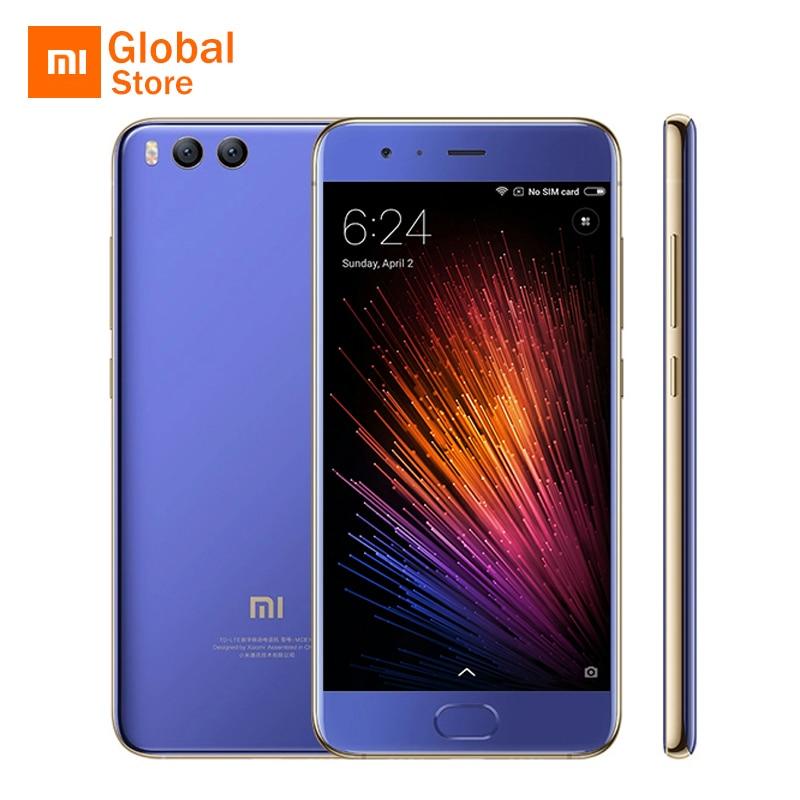 "bilder für Globale ROM! Xiaomi Mi6 Mi 6 M6 6 GB 128 GB ROM Handy Snapdragon 835 5,15 ""FHD Dual 12MP Zurück Kamera Vierseitige Gekrümmte Körper"