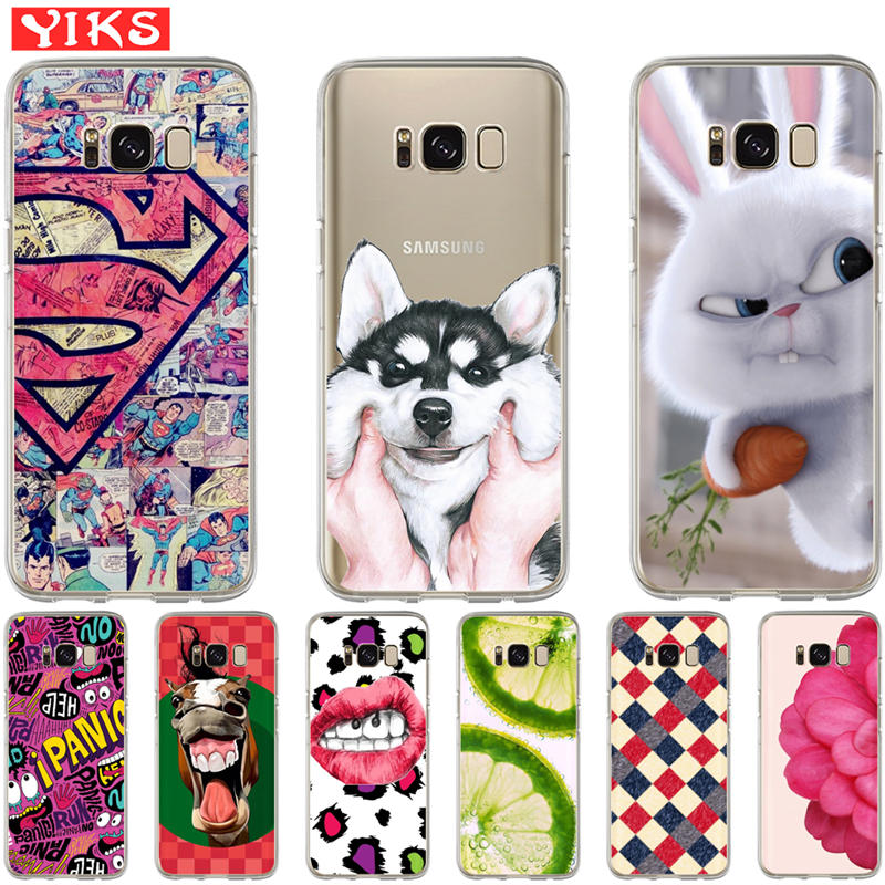 Cool Animal Panda Husky Puppy Cover For Samsung Galaxy S4 S5 Mini S6 S7 Edge S8 S9 Plus Grand Prime Note 4 5 8 Silicone Case Cellphones & Telecommunications