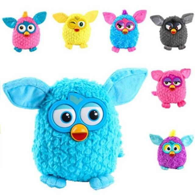 Neue Plüsch Interaktive Spielzeug phoebe 6 Farbe Elektrische Haustiere Eule Elfen plüschtiere Aufnahme Reden Spielzeug Geschenke Furbiness boom