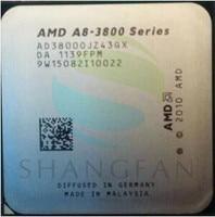 AMD A8 3800 A8 3800 2.4GHz 65W Quad Core CPU Processor AD3800OJZ43GX A8 3800K Socket FM1/ 905pin