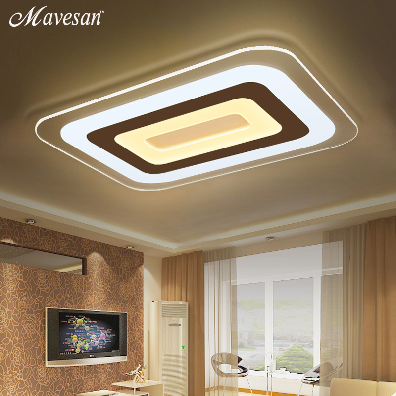 Led Light Enclosed Fixture: Modern Led Ceiling Lights For Indoor Lighting Plafon Led