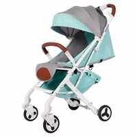 BABYYOYA leggero portatile pieghevole bambino passeggino può sedersi può mentire una operazione di tasto piccolo e leggero facile per i viaggi