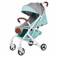 BABYYOYA leichte, tragbare klapp baby kinderwagen können sitzen können liegen ein schlüssel betrieb kleine und licht einfach für reise