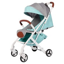 BABYYOYA lightweight portable folding baby stroller can sit lie one key operation small and light easy for travel