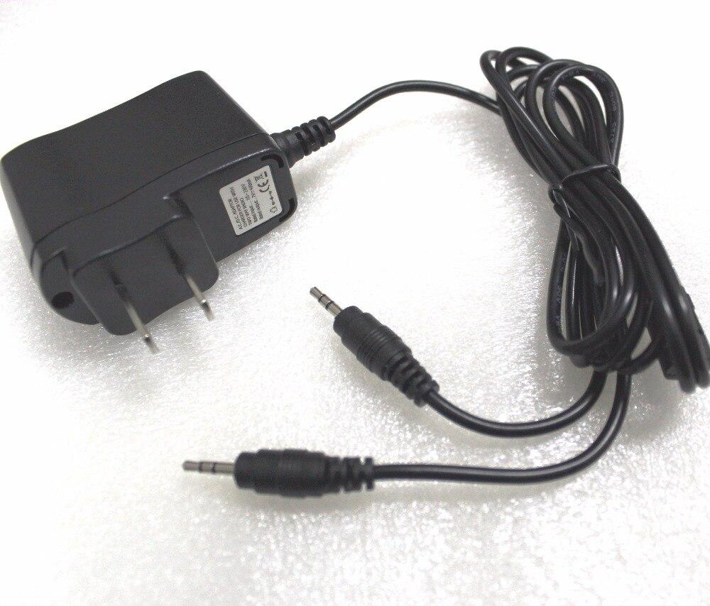 bilder für 2,5mm pinac/dc adapter ladegerät 110-230 v walkie talkie ladeadapter 7 v-400 mah für topsung retevis t388 t228 vt8 2-wege-radios
