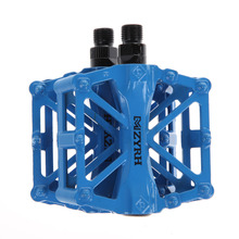Bicycle BMX Mountain Bike Pedal 9/16″ Thread Parts Super Strong UltraLight Platform Cycling Bike Pedals Magnesium Outdoor Sports