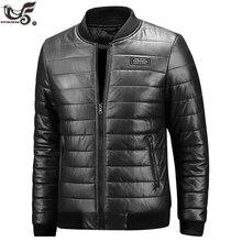 XIYOUNIAO chaqueta de cuero de invierno para hombre, chaqueta de talla grande M ~ 7XL 8XL, informal, de piel sintética para motocicleta