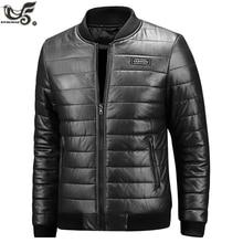 XIYOUNIAO veste dhiver en cuir hommes, grande taille M ~ 7XL 8XL décontracté, vestes en cuir synthétique polyuréthane et manteaux pour moto