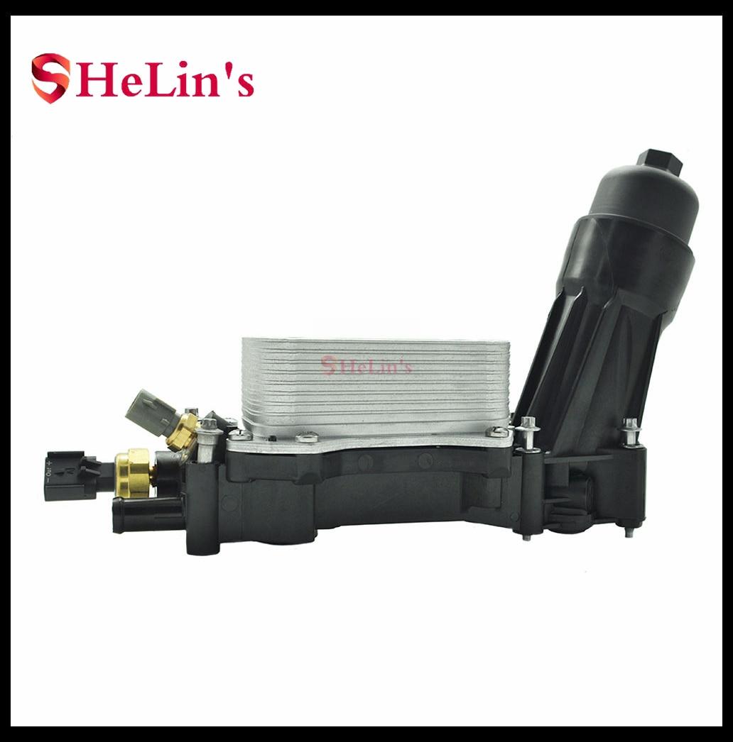 68105583AB 68105583AC 68105583AD 68105583AE 68105583AF boîtier adaptateur de filtre à huile moteur pour Chrysler Dodge Jeep Ram 3.6 3.6L