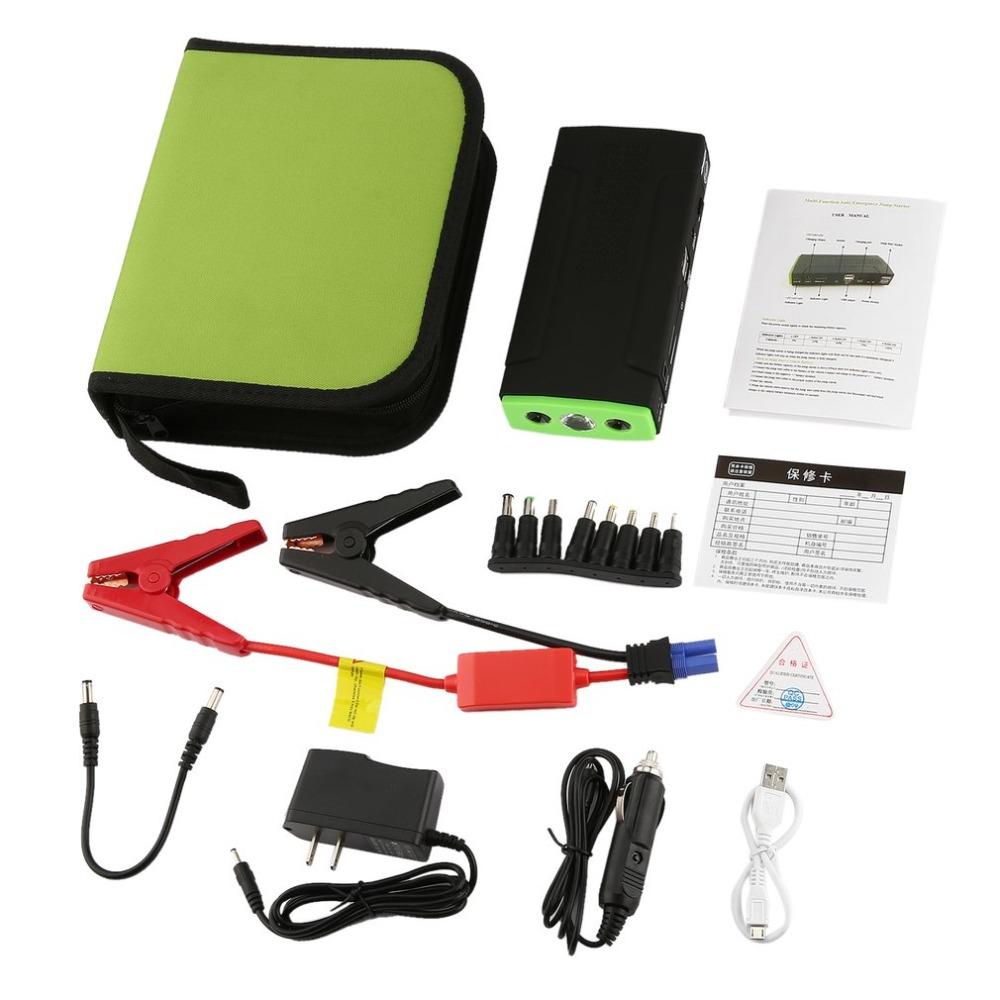 Multifunctional 68800mAh Portable Vehicle Power Auto Emergency Car Jump Starter Mini Engine Booster Power Bank J15C17 new 50800mah 12v portable car jump starter booster charger battery power uk vehicle engine booster emergency power bank page 7
