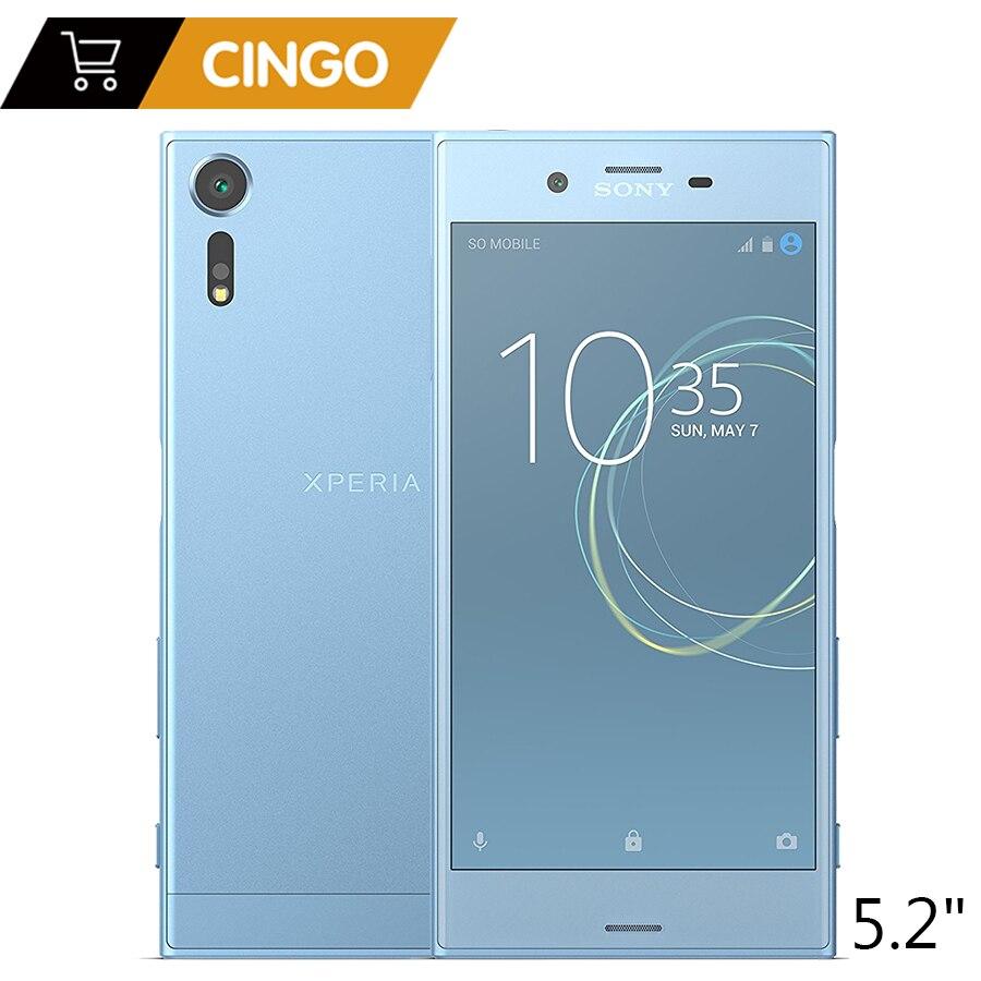 D'origine Sony Xperia XZs G8232 LTE Mobile Phone Double SIM RAM 4 gb ROM 64 gb 19MP Snapdragon 820 5.2 2900 mah Cellulaire Téléphone