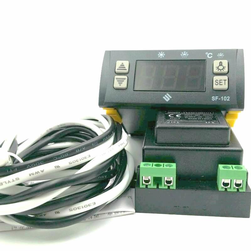 SF-102 Cool Room Fridge Digital Controller With Sensor Freezer Defrosting цена 2017