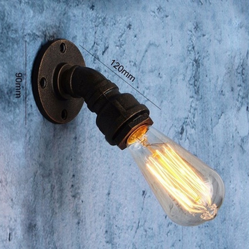 E27 Retro Antique Edison Wall Lampholders Screw Lamp Base Bulb Socket A Type Lampada Led Lanterna e27 retro antique edison wall lampholders base light metal bulb socket j type