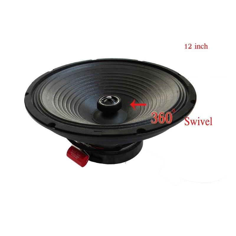 Nouvel arrivage gamme complète 800 w Max HiFi Audio accessoires 8 ohms soie tweeter KTV coffre haut-parleur 12 pouces Auto klaxon maison